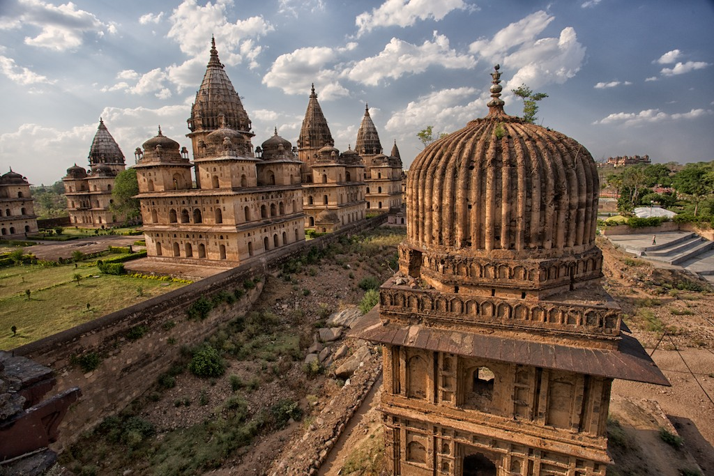 Cenotaphs of Orchha 12
