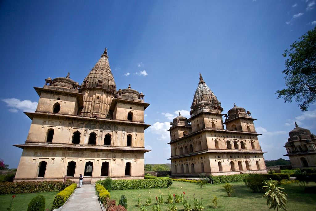 Cenotaphs of Orchha 13
