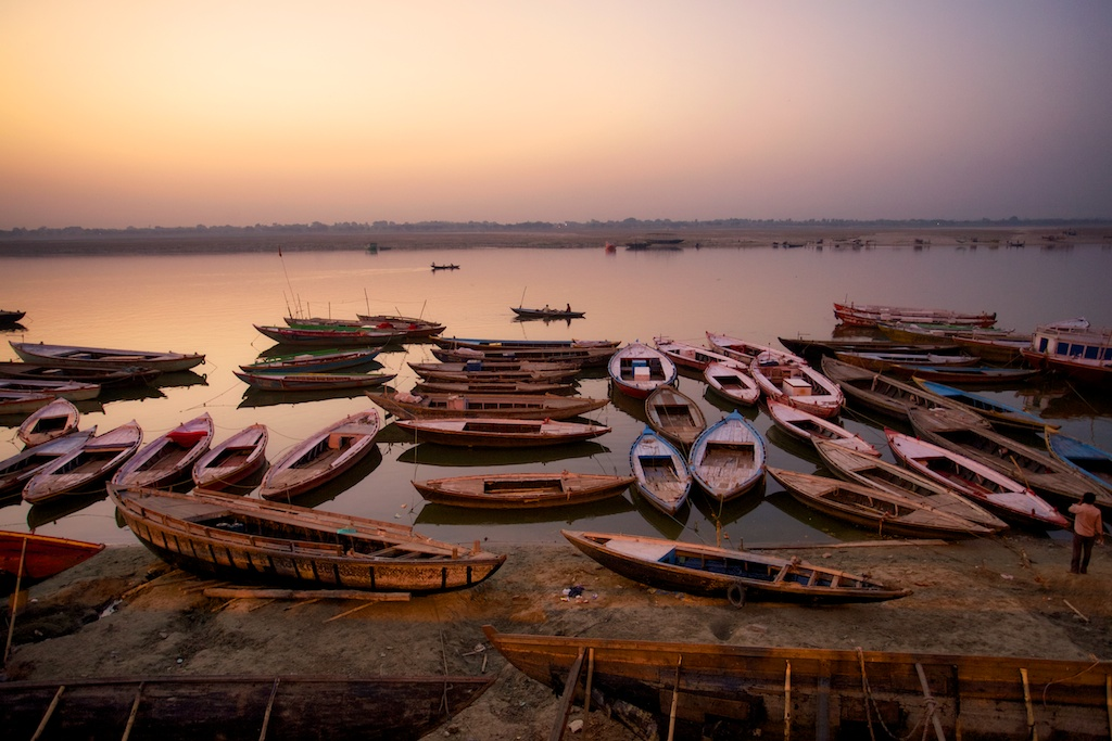 Varanasi Ganges River 12