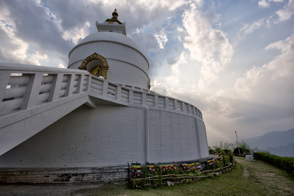 World Peace Pagoda Pokhara 14