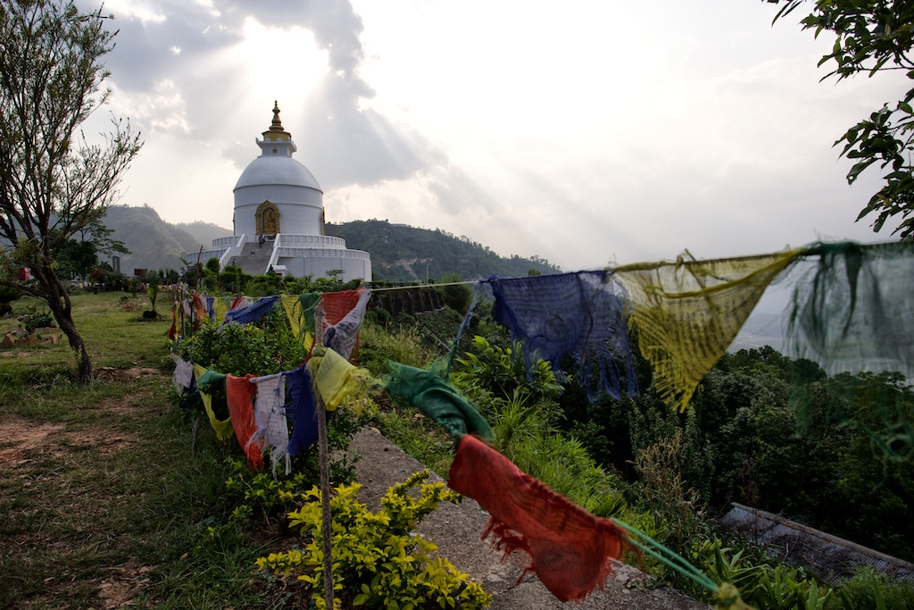 World Peace Pagoda Pokhara 5
