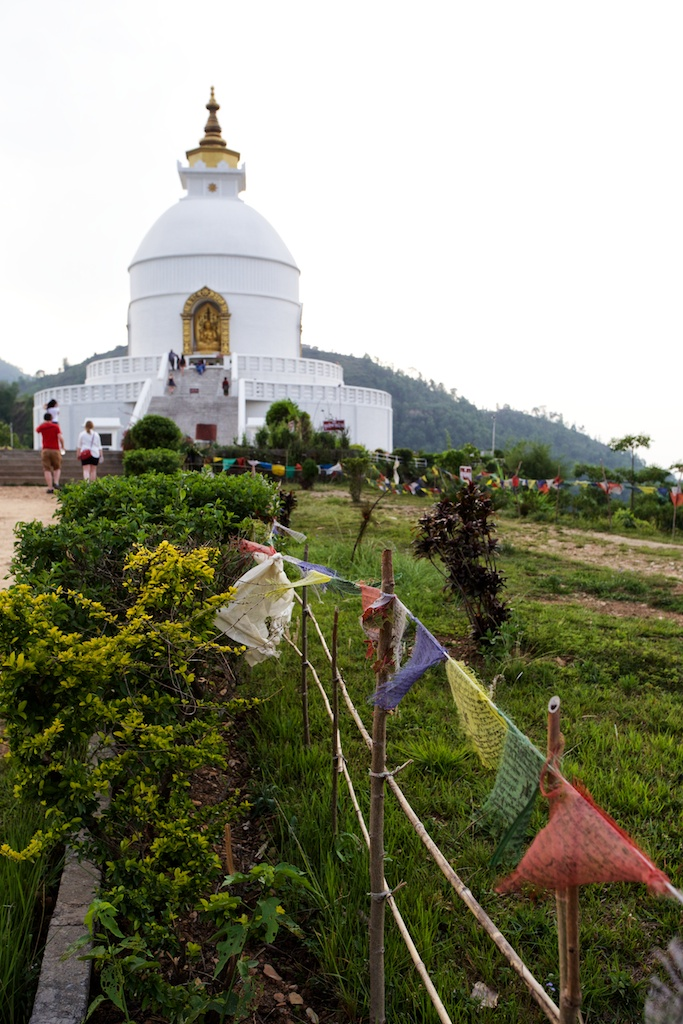 World Peace Pagoda Pokhara 6
