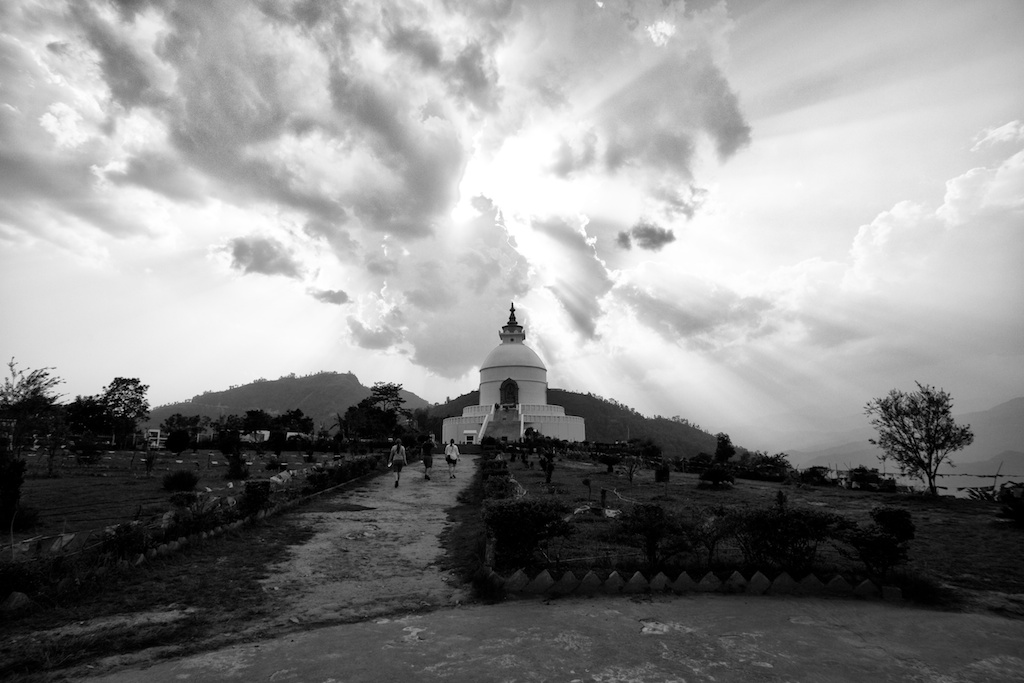 World Peace Pagoda Pokhara 9