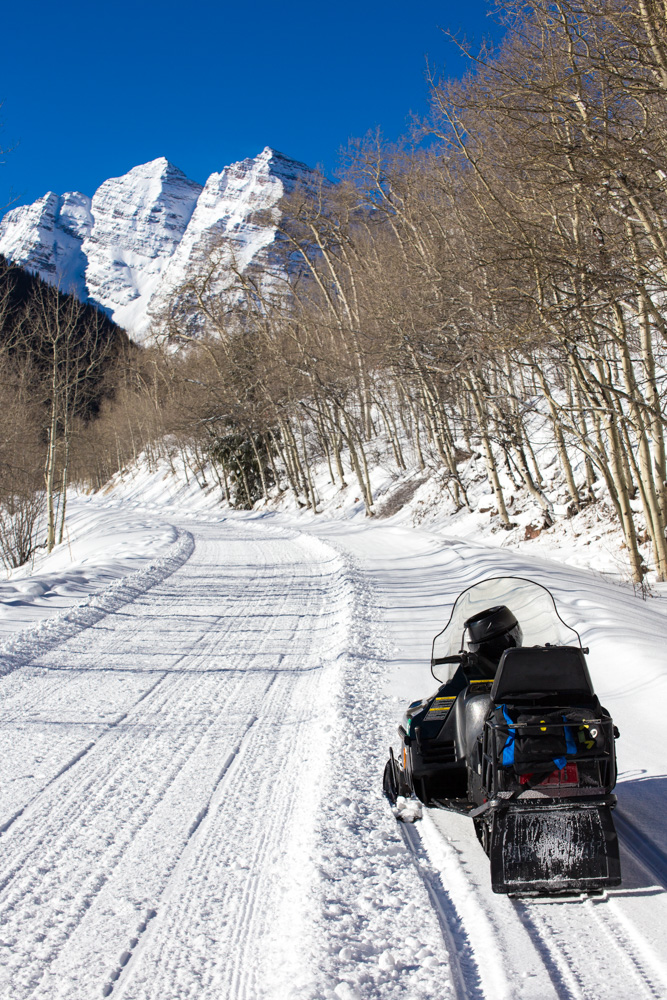 Maroon Bells Snowmobile-2