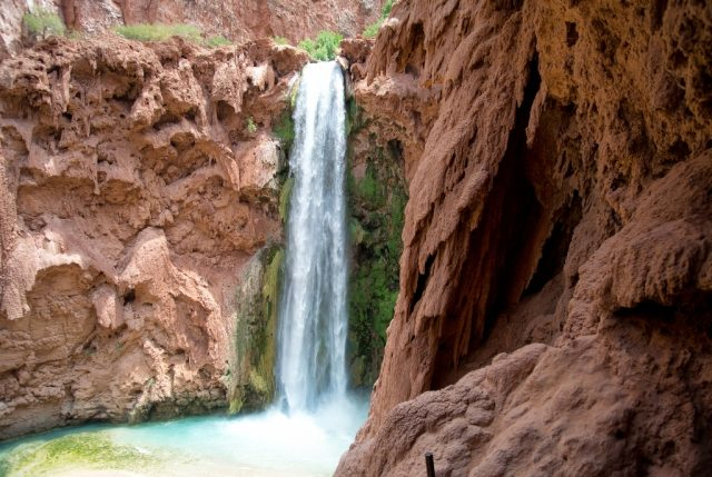 Mooney Falls: Epic Descent to a 200 Foot Waterfall in Arizona