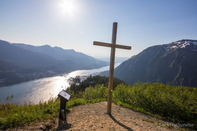 Cross Hike from Mount Roberts Tramway in Juneau, Alaska