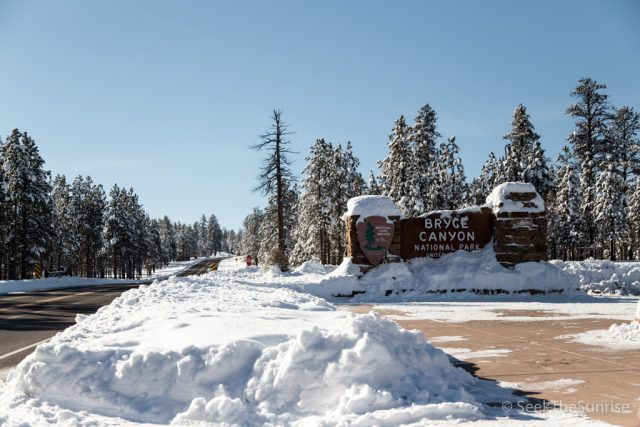 Bryce Canon National Park: Viewpoints to See in the Winter