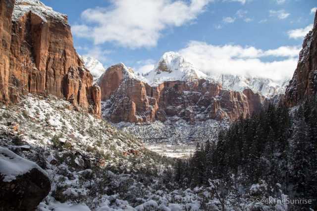 Kayenta Trail to Emerald Pools in Zion National Park: Best Winter Hike