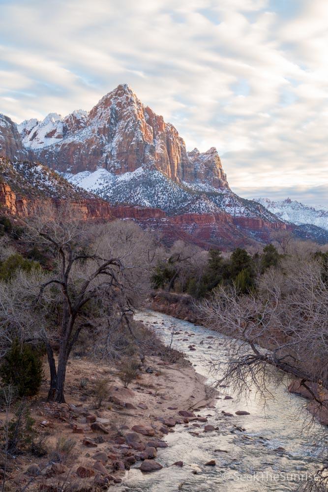 Zion National Park Winter-8